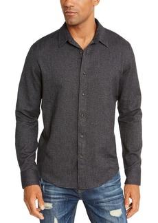 American Rag Men's Matt Regular-Fit Brushed Twill Shirt, Created For Macy's