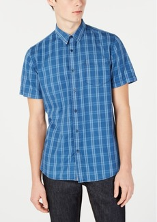 American Rag Men's Matty Plaid Shirt, Created for Macy's