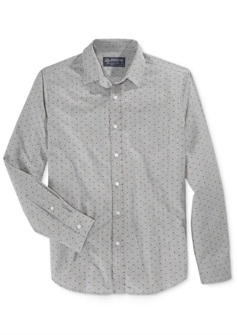 American Rag Men's Maurice Dot-Print Long-Sleeve Shirt, Only at Macy's