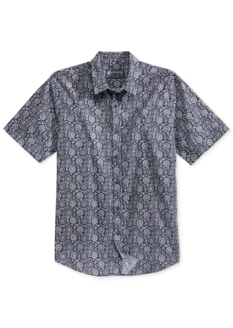 American Rag Men's Medallion-Print Shirt, Only at Macy's