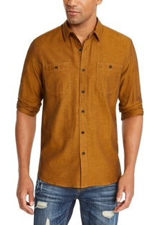 American Rag Men's Micro Herringbone Shirt, Created for Macy's
