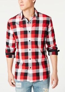 American Rag Men's Milford Regular-Fit Check Shirt, Created for Macy's