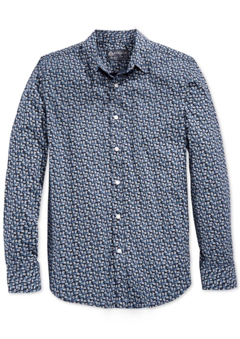 American Rag Men's Mini Floral-Print Shirt, Only at Macy's