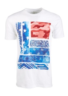 American Rag Men's Modern Flag Graphic T-Shirt, Created for Macy's
