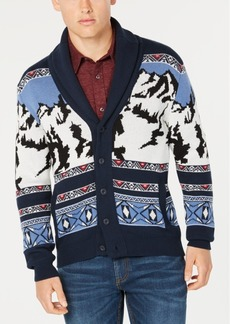 American Rag Men's Mountain Shawl-Collar Cardigan, Created for Macy's