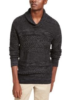 American Rag Men's Multi-Textured Shawl-Collar Sweater, Created for Macy's