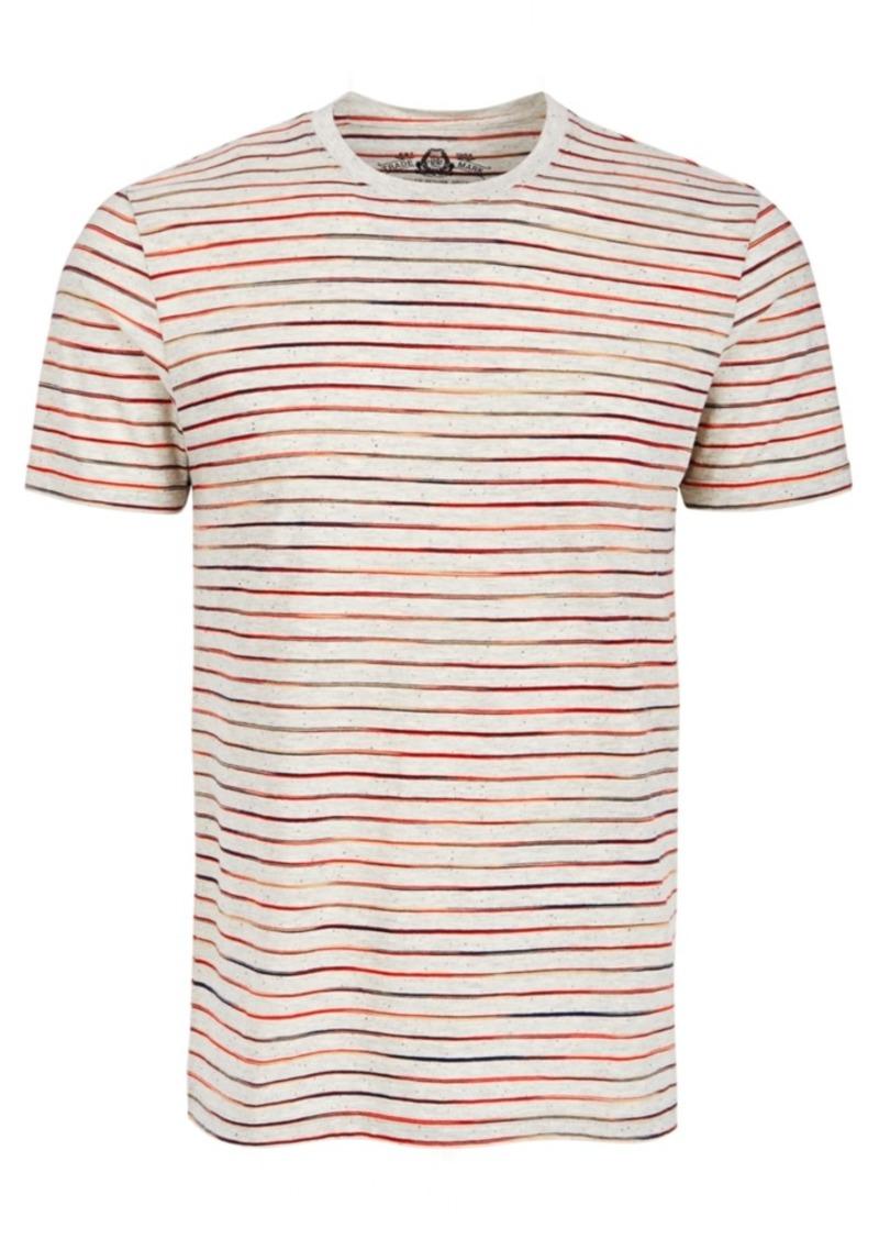 American Rag Men's Multicolor Feeder Stripe T-Shirt, Created for Macy's