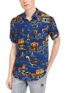 American Rag Men's Old West Print Shirt, Created for Macy's