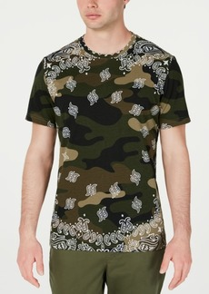American Rag Men's Paisley Camo T-Shirt, Created for Macy's