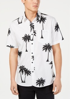 American Rag Men's Palm Tree Shirt, Created for Macy's