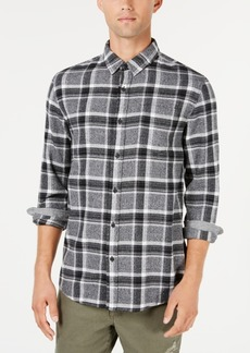 American Rag Men's Plaid Flannel Shirt, Created for Macy's