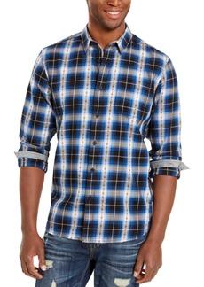 American Rag Men's Plaid Plus Flannel Shirt, Created For Macy's
