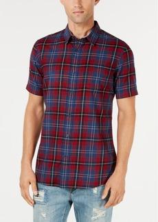 American Rag Men's Plaid Shirt, Created for Macy's