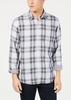 American Rag Men's Plaid Woven Shirt, Created for Macy's