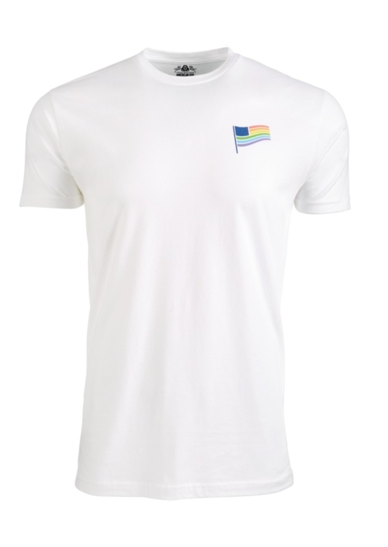 American Rag Men's Rainbow Flag Graphic T-Shirt, Created For Macy's