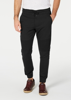 American Rag Men's Regular-Fit Knit Moto Joggers, Created for Macy's