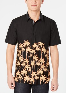 American Rag Men's Regular-Fit Palm Tree Shirt, Created for Macy's