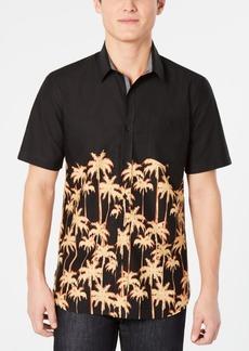 American Rag Men's Regular-Fit Palm Tree Shirt, Created for Macy's