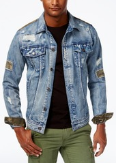 American Rag Men's Rip & Repair Denim Jacket, Created for Macy's
