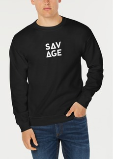 American Rag Men's Savage Graphic Sweatshirt, Created for Macy's