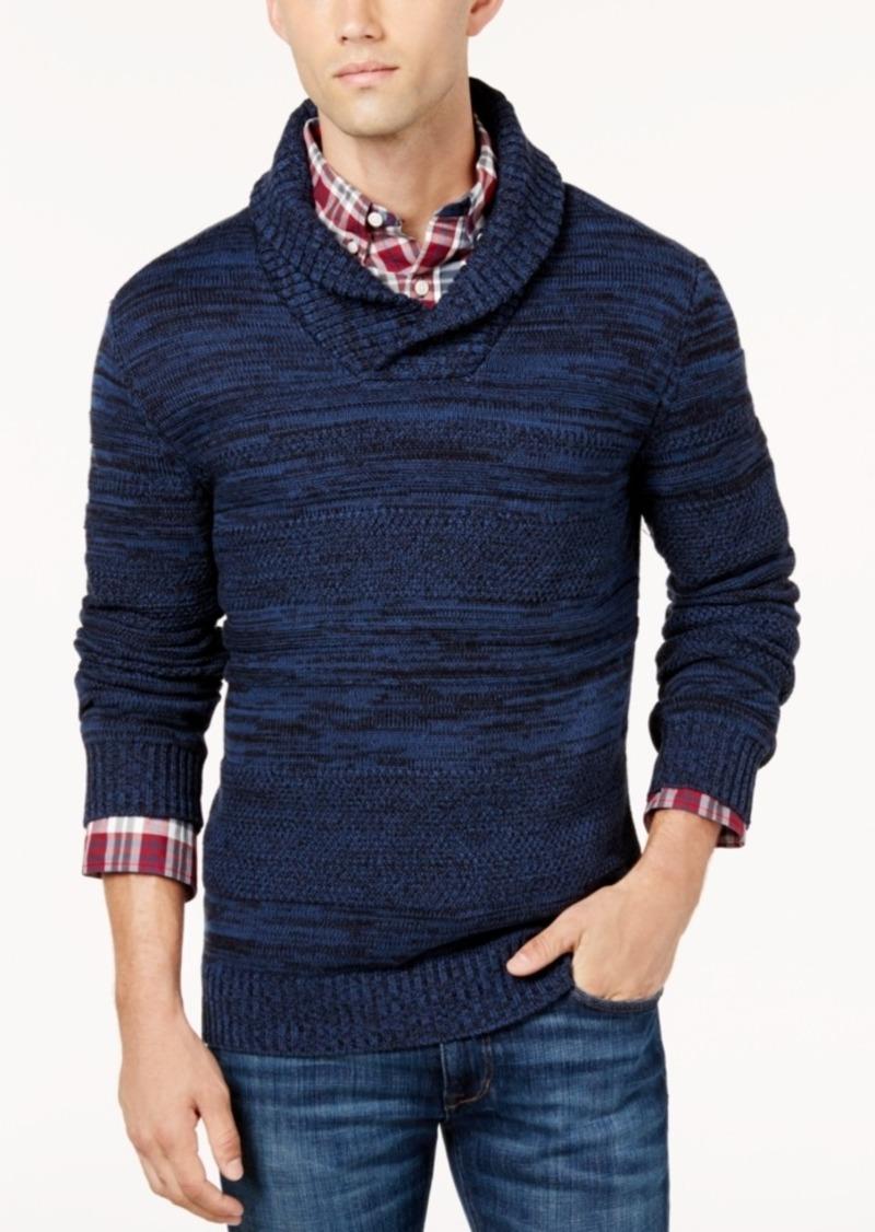 a54be6c2631b American Rag American Rag Men s Shawl Collar Sweater