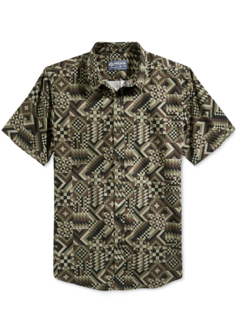 American Rag Men's Short-Sleeve Print Shirt, Only at Macy's