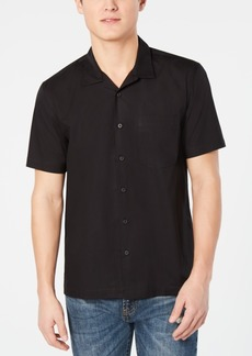 American Rag Men's Short Sleeve Woven Shirt, Created for Macy's
