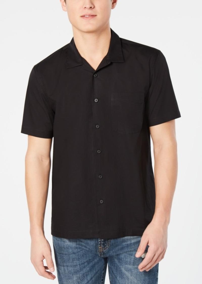 American Rag Men's Short Sleeve Woven Shirt, Created for Macy's