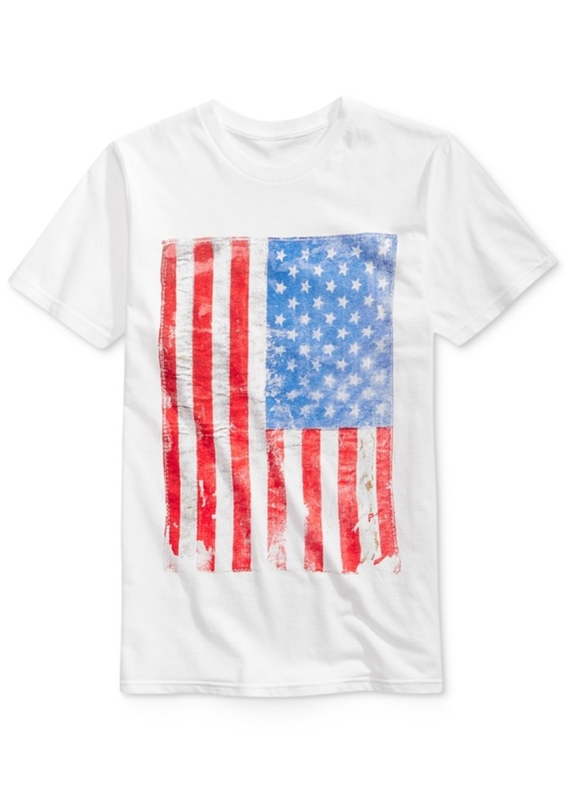 b6b407e0 American Rag Men's Stamp of Approval Flag T-Shirt, Created for Macy's