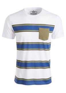 American Rag Men's Striped Pocket T-Shirt, Created for Macy's