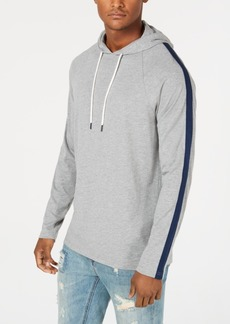 American Rag Men's Lightweight Striped Sleeve Hoodie, Created for Macy's