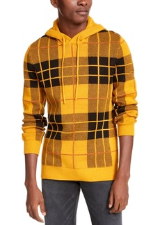American Rag Men's Tartan Hoodie, Created For Macy's