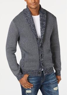 American Rag Men's Textured Cardigan, Created for Macys