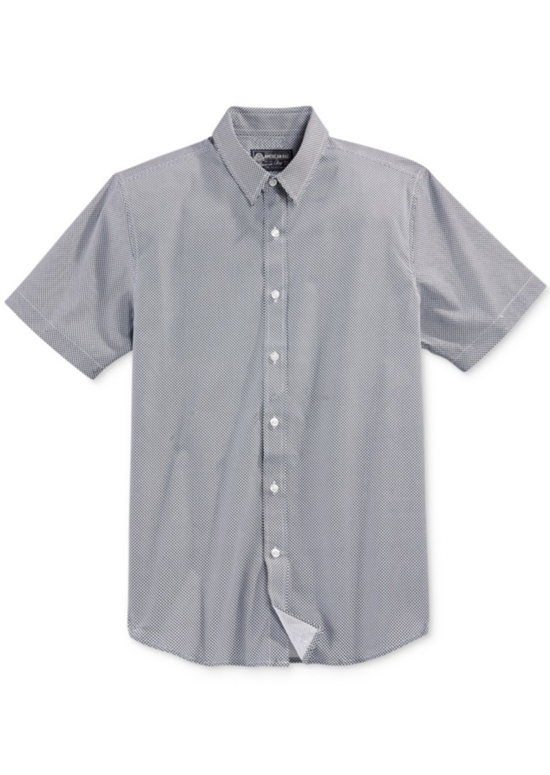 American Rag Men's Textured Short-Sleeve Shirt, Only at Macy's