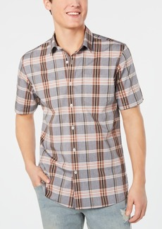 American Rag Men's Theo Plaid Shirt, Created for Macy's