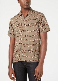 American Rag Men's Tiger Stripe Shirt, Created for Macy's