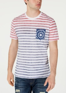 American Rag Men's Tonal Striped Pocket T-Shirt, Created for Macy's
