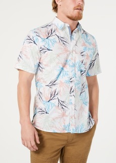 American Rag Men's Tossed Coral Shirt, Created for Macy's