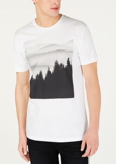 American Rag Men's Tree Line Graphic T-Shirt, Created for Macy's