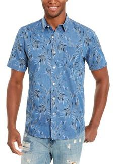 American Rag Men's Tropical Print Short Sleeve Shirt