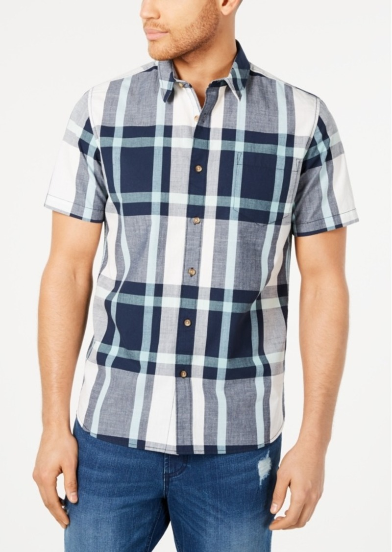 American Rag Men's Tucker Regular-Fit Plaid Shirt, Created for Macy's