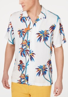 American Rag Men's Twisted Palms Shirt, Created for Macy's