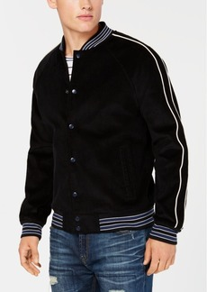 American Rag Men's Varsity Corduroy Bomber Jacket, Created for Macy's