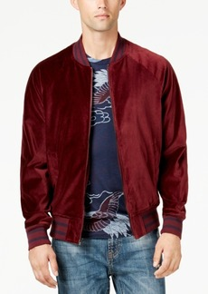 American Rag Men's Velvet Varsity Bomber Jacket, Created for Macy's