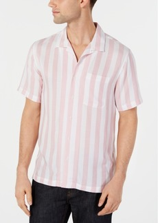 American Rag Men's Vertical Stripe Shirt, Created for Macy's