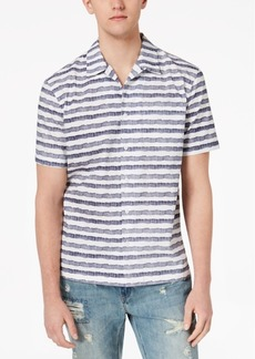 American Rag Men's Watercolor Stripe Shirt, Created for Macy's