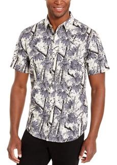 American Rag Men's Woodland Print Shirt, Created For Macy's