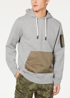 American Rag Men's Woven Pocket Hoodie, Created for Macy's