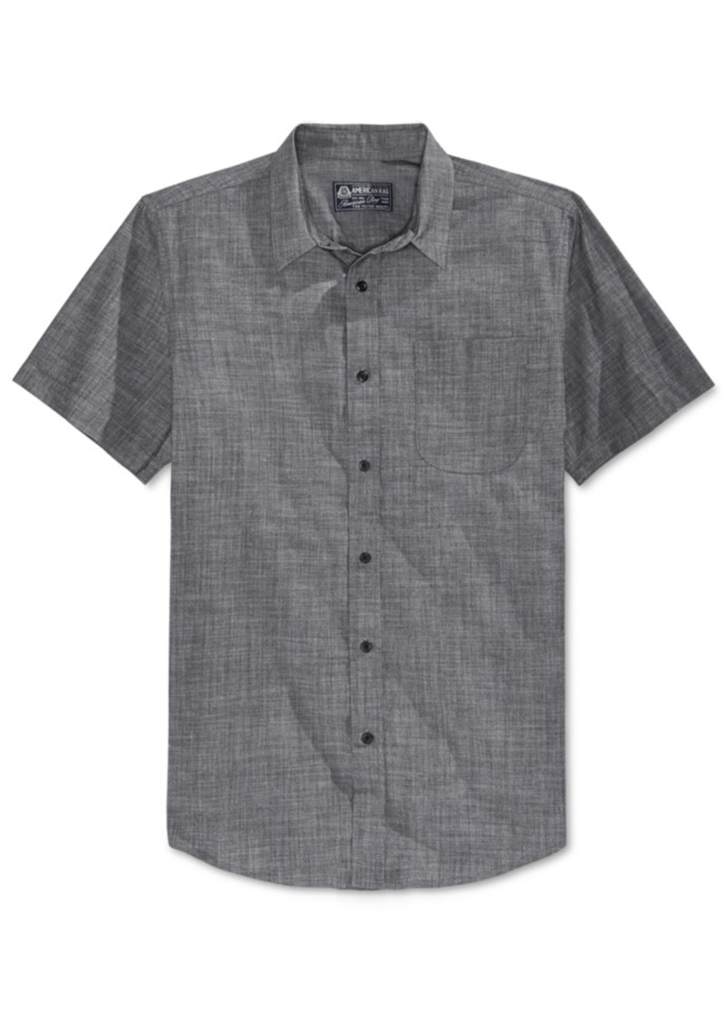 American Rag Men's Short-Sleeve Shirt, Only at Macy's