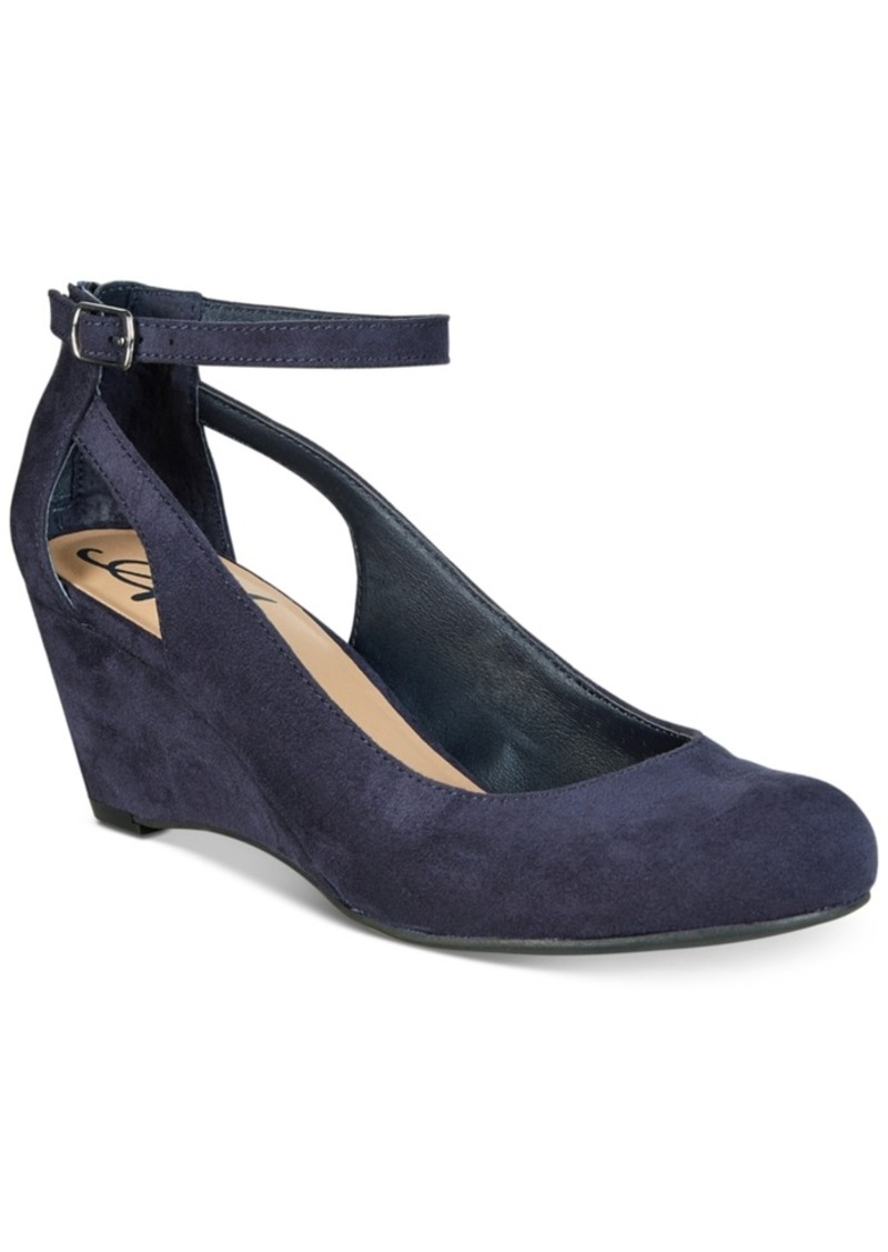 American Rag Miley Chop Out Wedges, Created for Macy's Women's Shoes